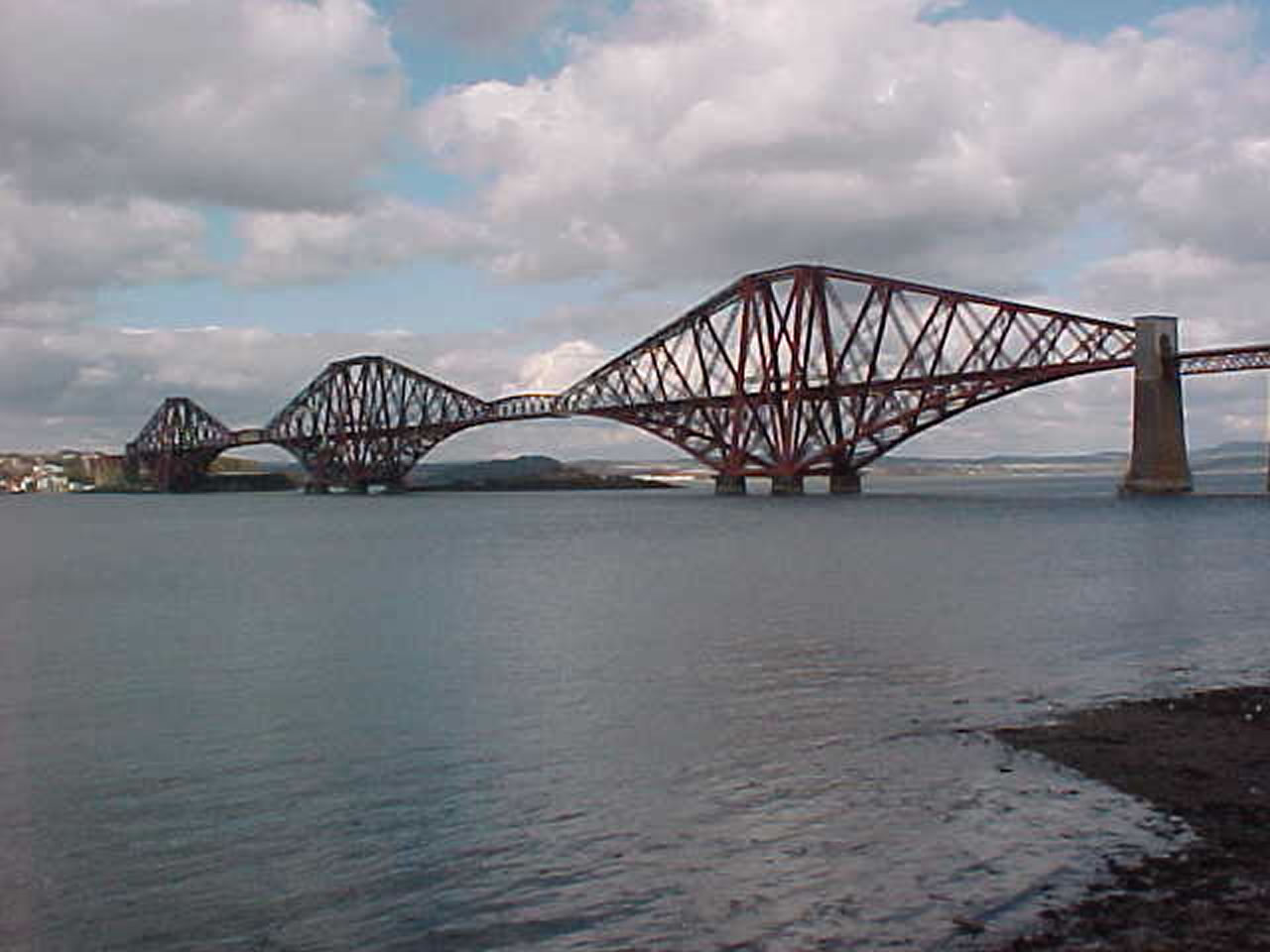 Some fact and figures about the forth rail bridge the bridge was